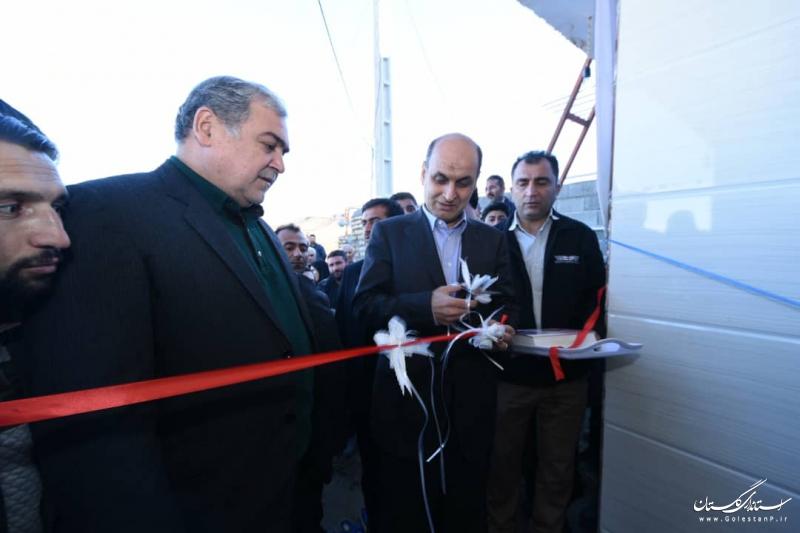 یک واحد مسکونی در روستای قلعه قافه افتتاح شد
