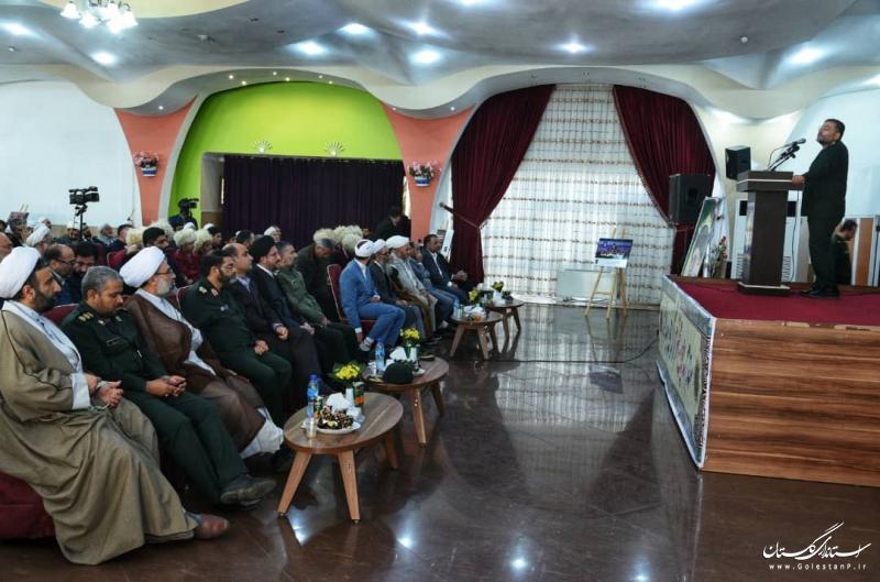 حضور استاندار گلستان در همایش نخبگان بسیج، قلب قدرت نرم