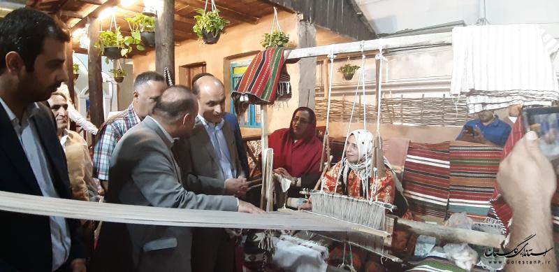 گلستان جزو استان های برتر در نمایشگاه توانمندی های روستاییان و عشایر کشور شد