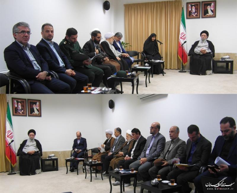 تشکیل نود و یکمین جلسه پیاپی شورای فرهنگ عمومی استان گلستان