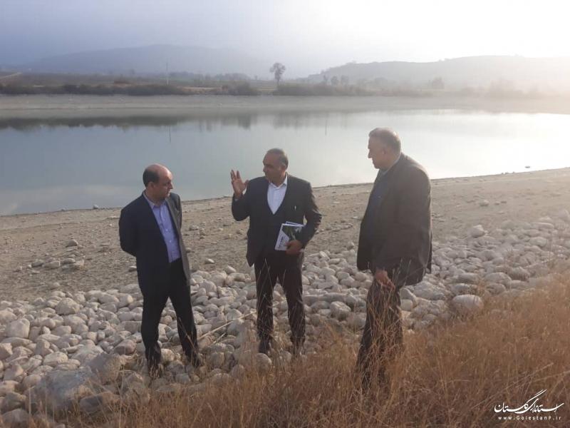 بازدید استاندار گلستان از طرح گردشگری در روستای کلو گرگان