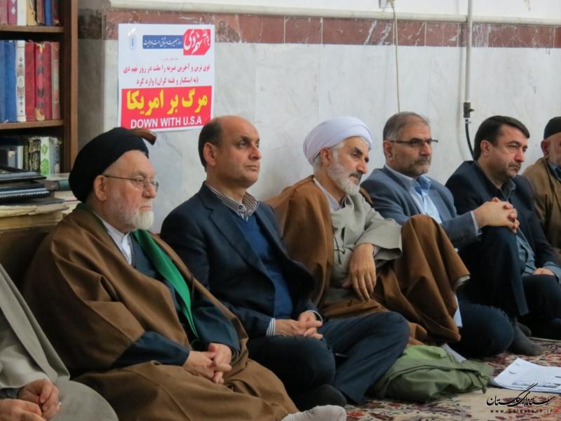 مراسم گرامیداشت شهدای ۱۲ دی شهرستان گالیکش با حضور  استاندار گلستان برگزار شد