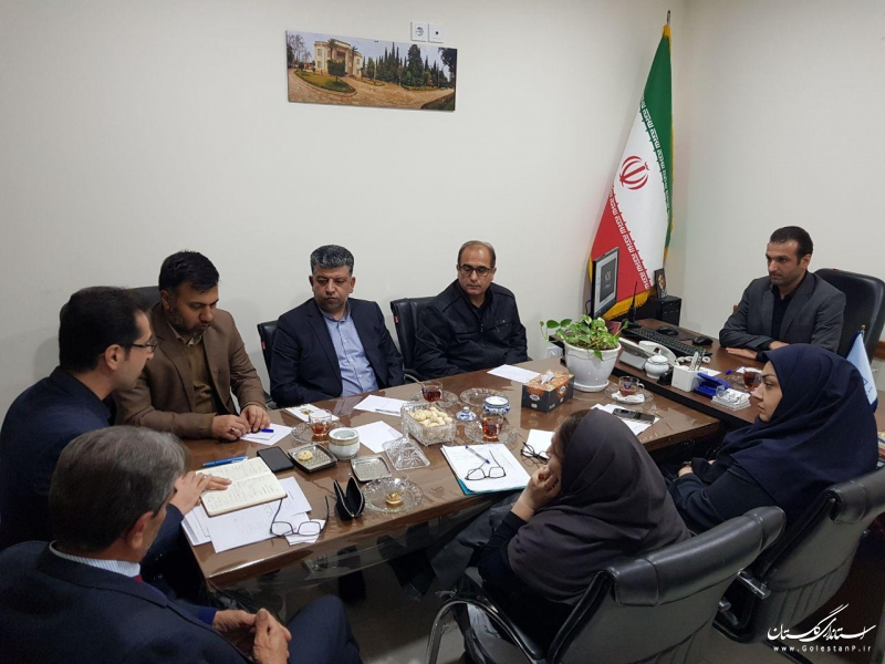 نشست سرپرست ادارهکل میراثفرهنگی گلستان با مدیران موزههای استان