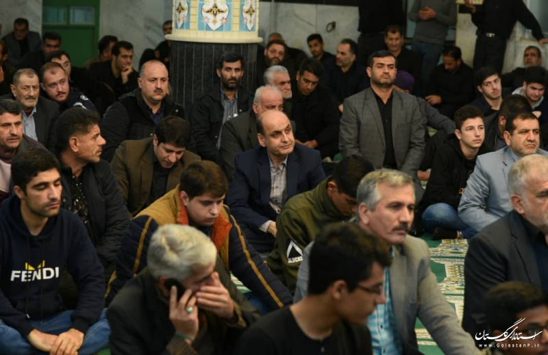 حضور استاندار گلستان در یادواره شهدای نوده ملک و گرامیداشت سردار شهید حاج قاسم سلیمانی