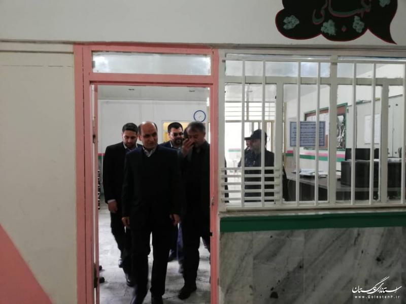 بازدید استاندار گلستان از زندان گنبد کاووس