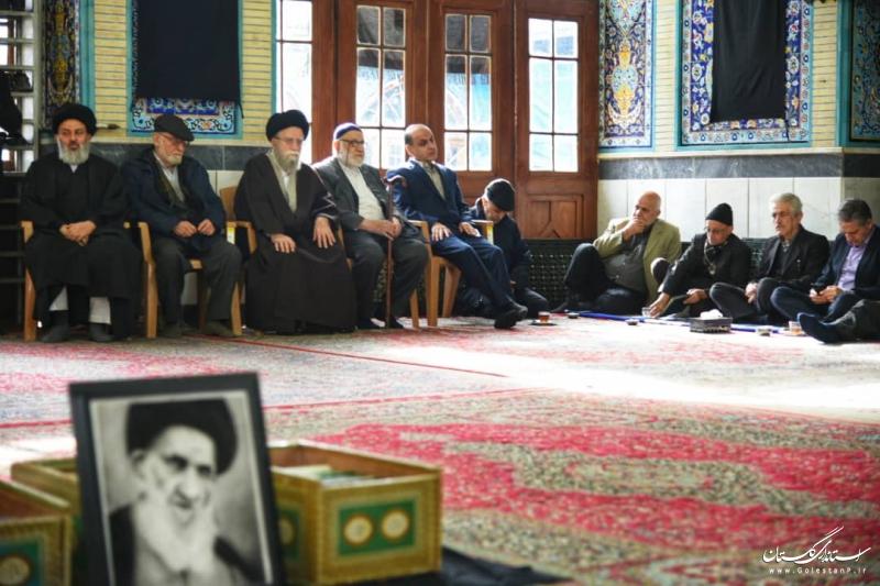عرض تسلیت استاندار گلستان به خانواده مرحوم آیت الله میبدی