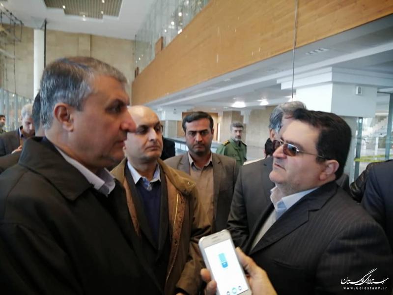 تکمیل ترمینال جدید فرودگاه بین المللی گرگان از اولویت وزارت راه و شهرسازی است
