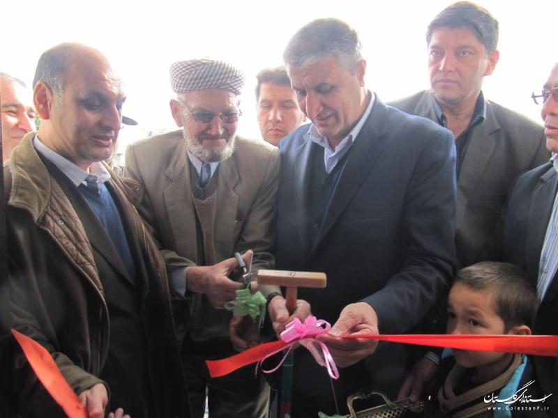 افتتاح چهارصدمین واحد مسکونی بازسازی شده در شهرستان سیل زده آق قلا