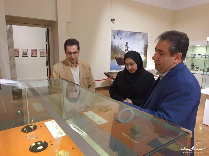 نمایش 5 شیء دیوار تاریخی گرگان در نمایشگاهی در موزه ملی ایران