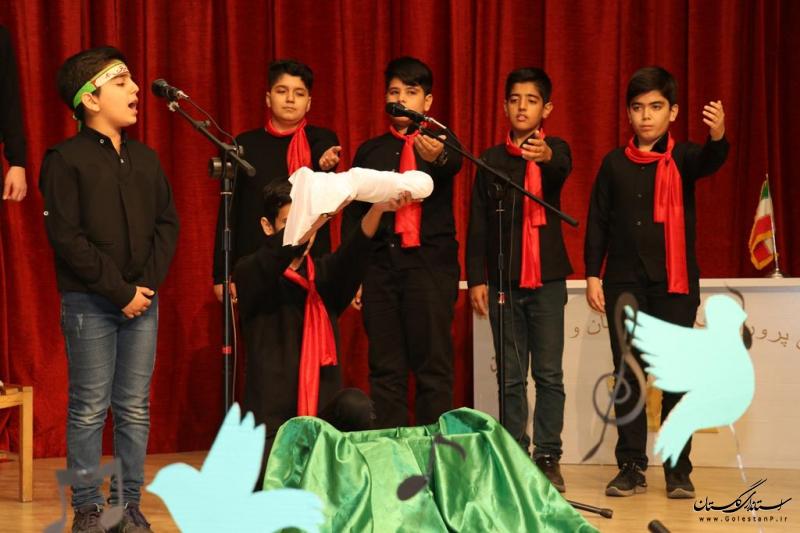 گروه سرود کانون پرورش فکری گلستان به مرحله کشوری نخستین مهرواره سرود آفرینش راه یافت