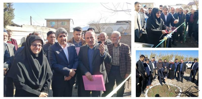 بهره برداری از 6 پروژه آبرسانی و آغاز عملیات اجرایی 2 طرح آبرسانی روستایی در شهرستان رامیان