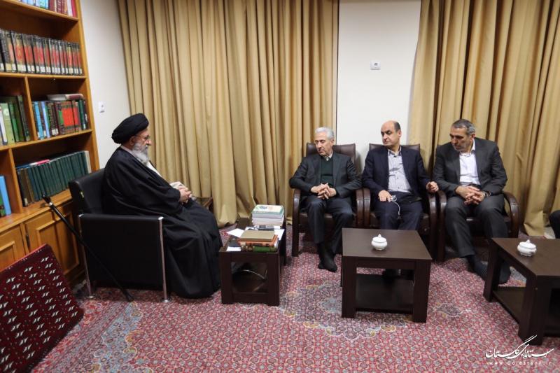 ديدار وزیر علوم، تحقیقات و فناوری با نماینده ولی فقیه در گلستان