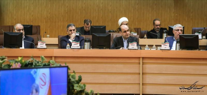 حضور استاندار گلستان در همایش استانداران با حضور وزیر کشور
