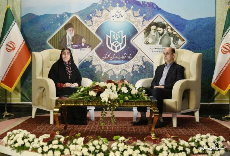 هیچ مشکلی در حوزه های انتخابیه استان گلستان وجود ندارد
