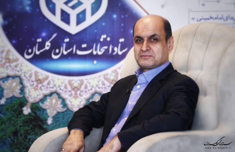 انتخابات در تمام حوزه های شهری گلستان تا ساعت ۲۳ تمدید شد