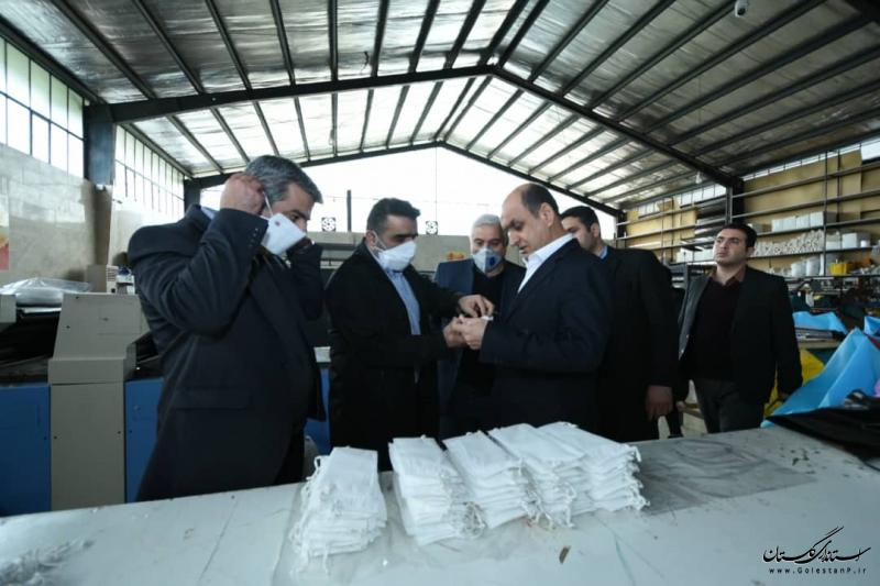 تولید و توزیع یک میلیون عدد ماسک در گلستان