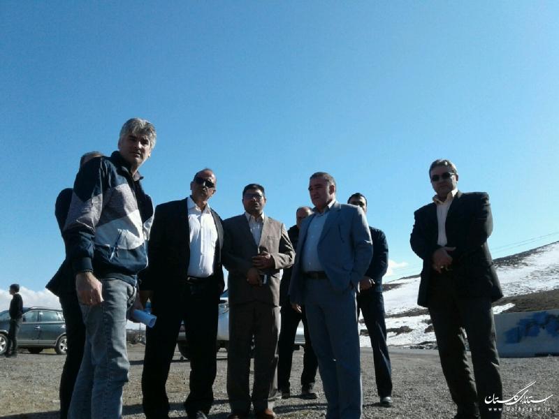بازدید مدیرکل راه و شهرسازی گلستان از پروژه بهسازی محور آزادشهر – خوش ییلاق