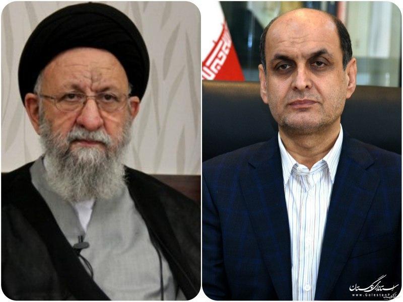 دعوت نماینده ولی فقیه در استان و استاندار گلستان از مردم به ماندن در خانه