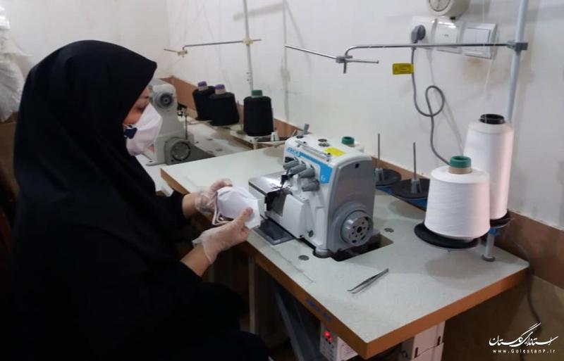 بیش از 13 هزار ماسک در آموزشگاه های آزاد فنی و حرفه ای استان تولید شد
