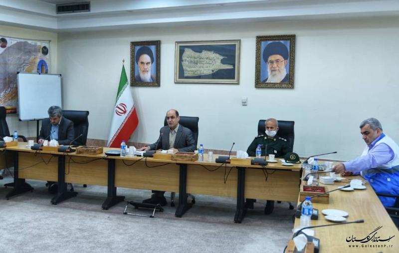 استاندار گلستان در جلسه ویدیو کنفرانس با وزیر بهداشت آخرین وضعیت مقابله با کرونا در گلستان را تشریح کرد