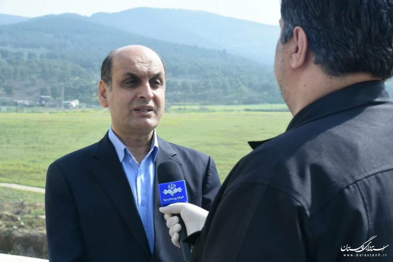 استاندار گلستان: در خانه ماندن مردم زحمات کادر درمانی استان را در چهارشنبه آخر سال کاهش می دهد