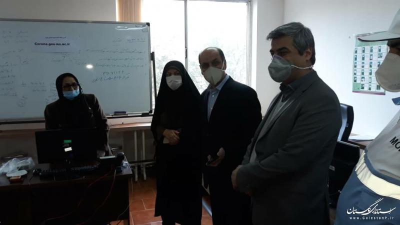 آغاز به کار مركز مشاوره مركز بهداشت استان با حضور استاندار گلستان