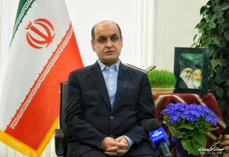 استاندار گلستان در پیام نوروزی سال ۱۳۹۹: تلاش ما عملیاتی شدن پروژه های بزرگ استان است