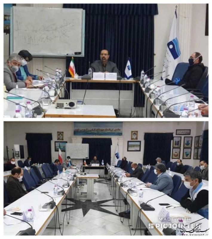 تعیین 6 محور مقابله با سیلاب احتمالی در اولین جلسه کمیته مدیریت بحران شرکت آب منطقه ای گلستان