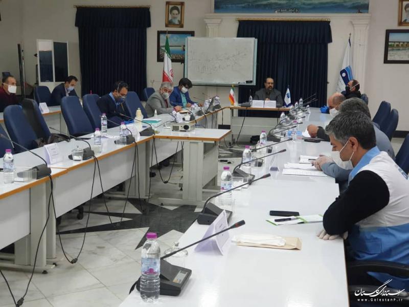دومین جلسه فوق العاده  مدیریت بحران و پدافند غیر عامل شرکت آب منطقه ای گلستان برگزار شد