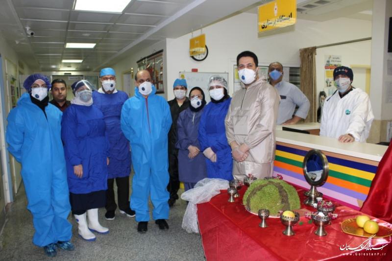 بازدید استاندار گلستان از بیمارستان شهدا بندرگز
