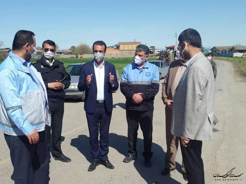 مدیرکل میراث فرهنگی گلستان از تفرجگاه های شهرستان علی آبادکتول بازدید کرد