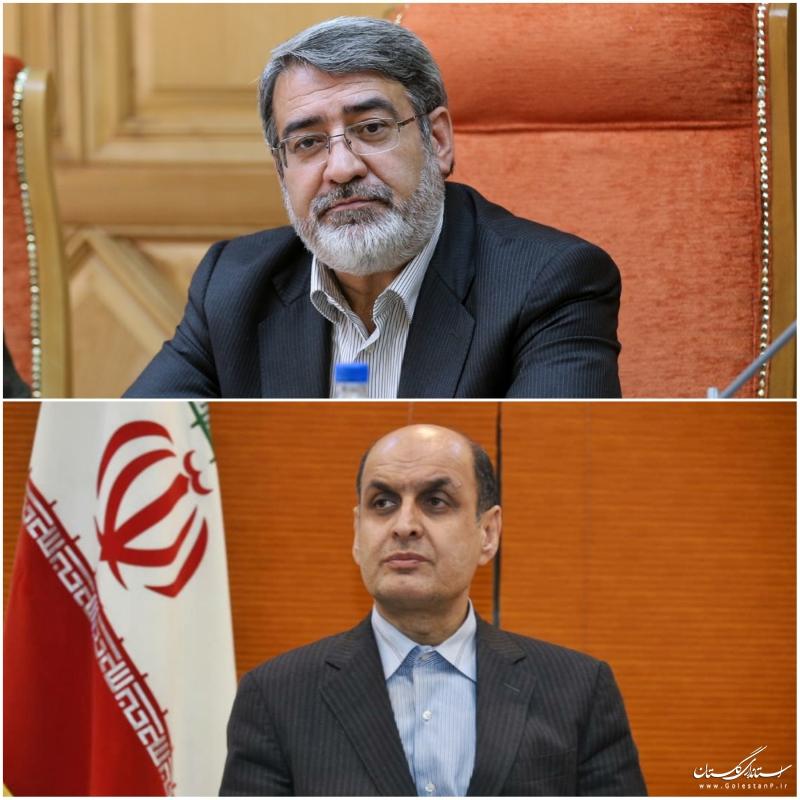 تقدیر وزیر کشور از  استاندار گلستان برای اجرای موفقیت آمیز طرح فاصله گذاری اجتماعی