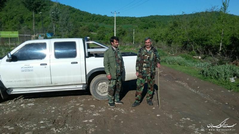 قرقبانان و جنگلبانان همچنان در امر حفاظت از انفال فعال هستند