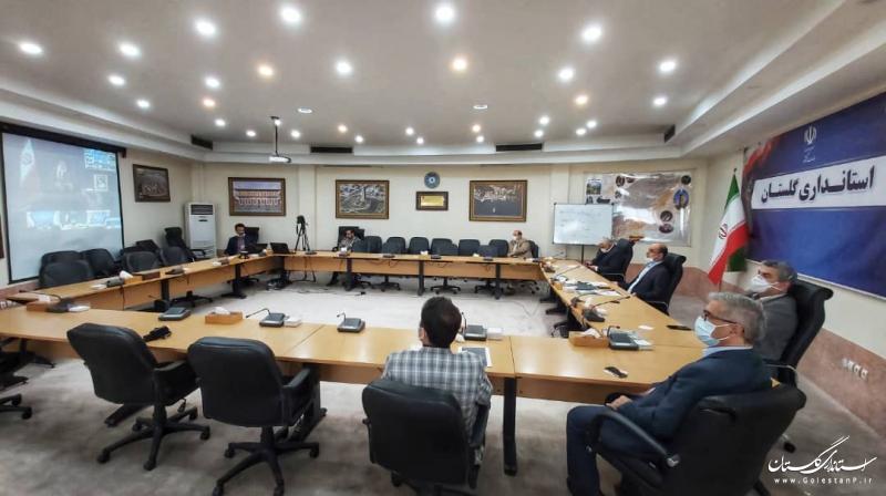 گفتگوی رئیس جمهوری با استانداران از طریق ویدئو کنفرانس در جلسه ستاد ملی مقابله با کرونا