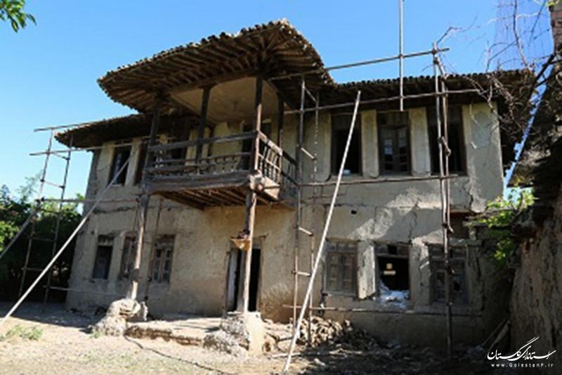 آغاز عملیات اجرایی واچینی پنجمین سازه روستایی پروژه موزه میراث روستایی گلستان