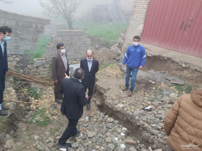 بازدید استاندار گلستان از روستای رانشی آق امام
