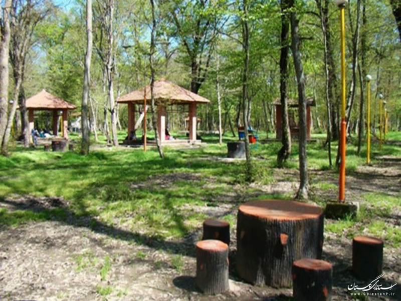 شروع عملیات اجرایی تکمیل زیرساختهای گردشگری پارک جنگلی دلند شهرستان رامیان
