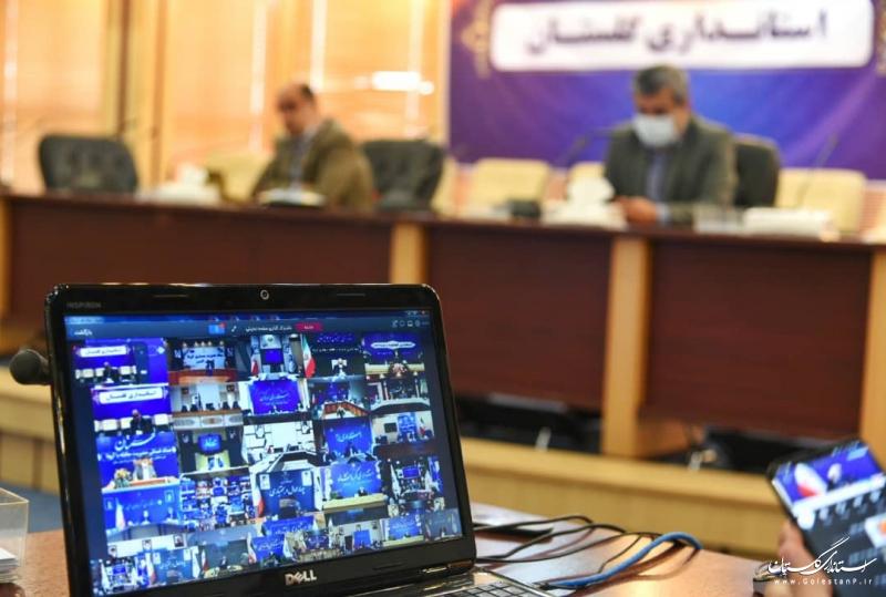 گفتگوی رئیس جمهوری با استانداران از طریق ویدئو کنفرانس در ستاد ملی مقابله با کرونا