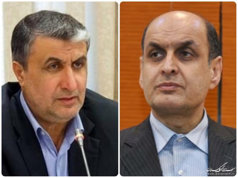 استاندار گلستان با وزیر راه و شهرسازی دیدار و گفتگو کرد