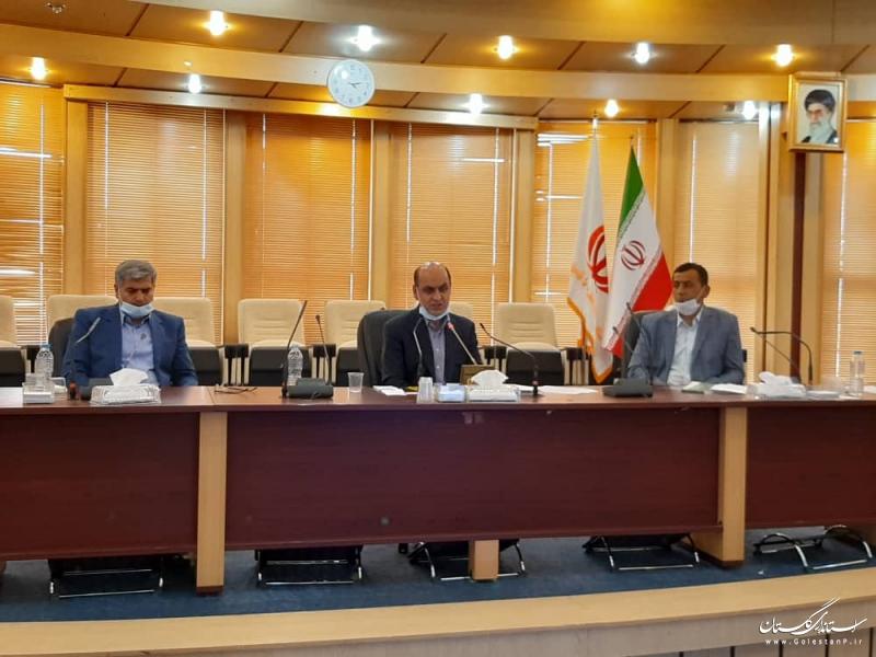 تاکید استاندار گلستان بر تامین سوخت مورد نیاز کشاورزان و پلاک کوبی دام ها