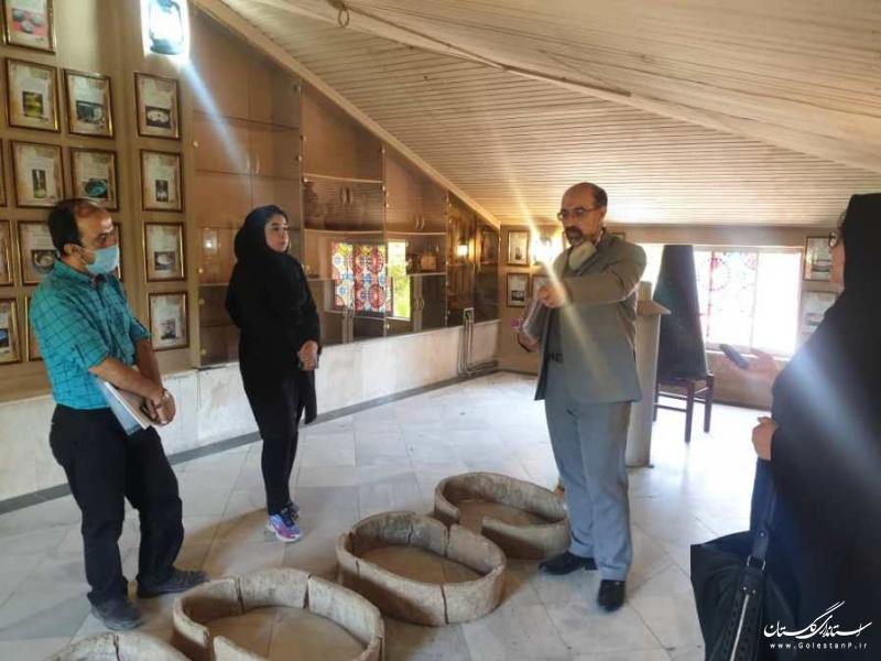 بازدید خبرنگاران از گنجینه آب شرکت آب منطقه ای گلستان