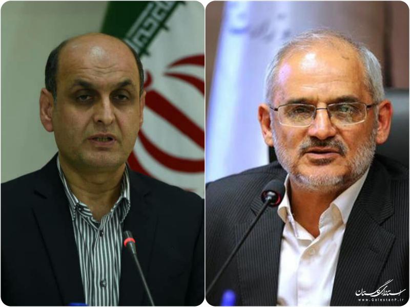 دیدار استاندار گلستان با وزیر آموزش و پرورش