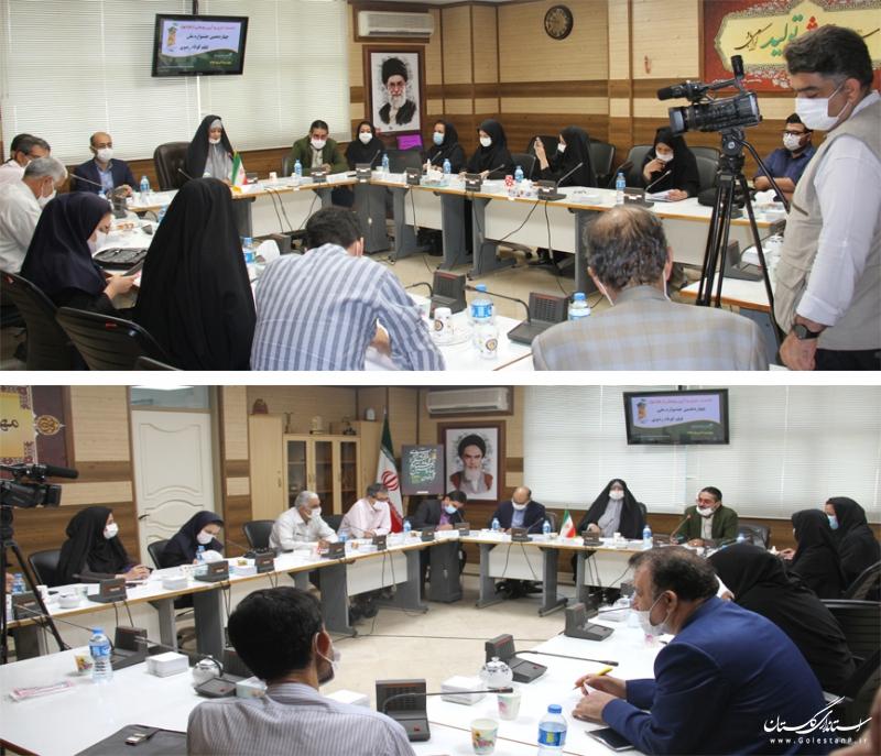 نشست خبری چهاردهمین جشنواره ملی فیلم کوتاه رضوی در گرگان تشکیل شد