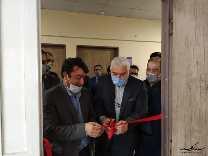 افتتاح شرکت سپیدتن پرنیان پویش در شهرک صنعتی آق قلا