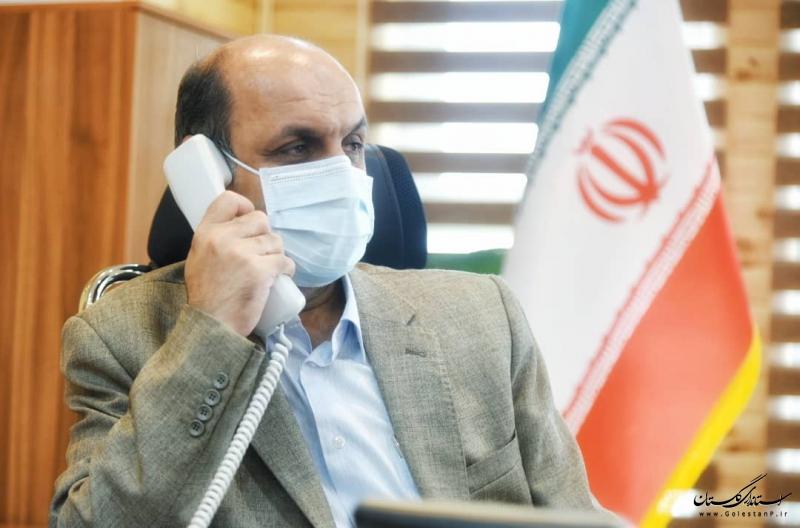 استاندار گلستان در مرکز سامد پاسخگوی مردم خواهد بود