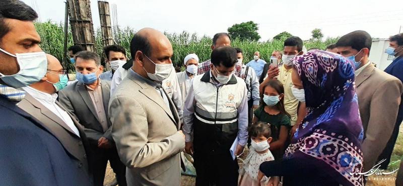 استاندار گلستان اتمام بازسازی واحدهای خسارت دیده از سیل در شهرستان آزادشهر را اعلام کرد