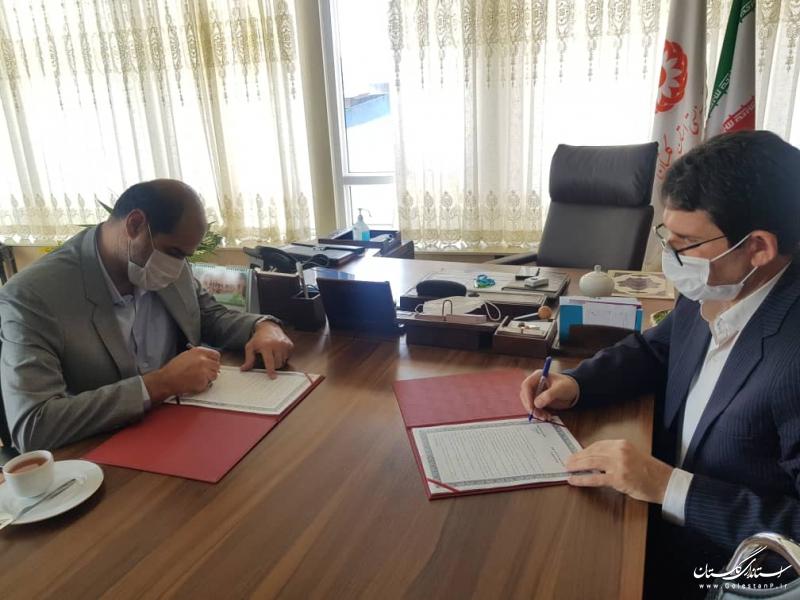 تفاهم نامه همکاری ادارات کل آموزش فنی و حرفه ای و بهزیستی استان گلستان امضاء شد