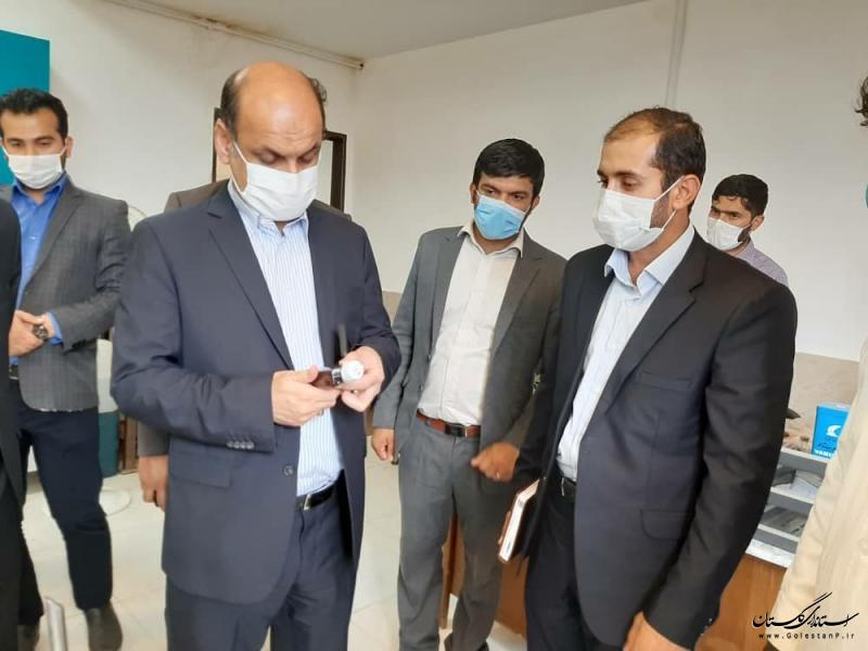 بازدید استاندار از جهاد دانشگاهی واحد گلستان