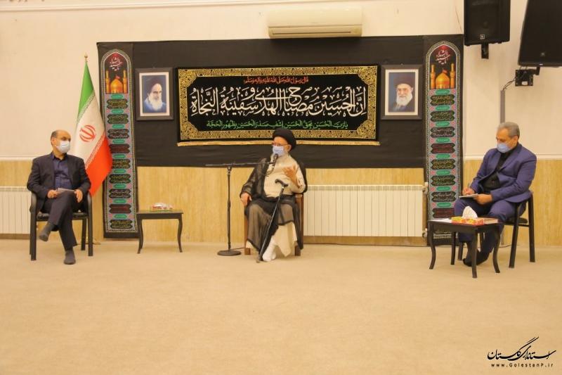 دیدار وزير جهاد كشاورزی با نماینده ولی فقیه در گلستان