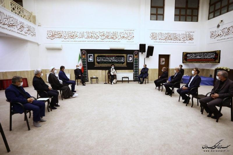 دیدار وزیر جهادكشاورزی با نماينده ولی فقيه در استان و امام جمعه گرگان